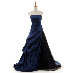 Ball Gown Quinceanera Strapless Modern Style Taffeta Evening Dresses TAED-30458 with Beading