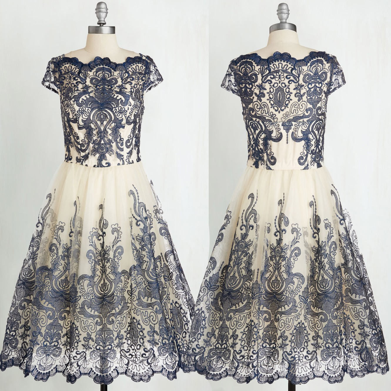 New Arrival Cheap Vintage Ball Gown Prom Dress with Lace Under 100 ...